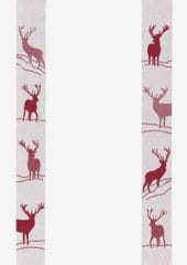 HIRSCH Fond weiss kitchen towel MEYER-MAYOR